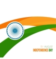 abstract background with symbol india vector image vector image