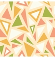 Abstract triangles seamless pattern background vector image vector image
