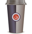 Coffee Cup Isolated on a white background vector image vector image