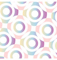 concentric circular ring background vector image vector image