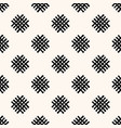 geometric seamless pattern with abstract handdrawn vector image