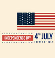 independence day collection style background vector image vector image