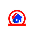 isometric home icon vector image