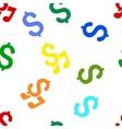 Music Price Flat Seamless Pattern vector image