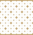 subtle white and gold seamless pattern vector image vector image