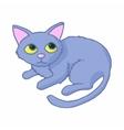 Cat icon cartoon style vector image vector image