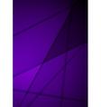 Dark violet stripes corporate background vector image