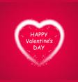 happy valentines day greeting card i love you 14 vector image vector image