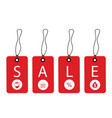 promotion sale tag vector image vector image