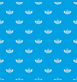 saw tool pattern seamless blue vector image vector image