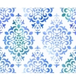 Watercolor seamless floral ornament vector image vector image