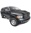 Black large pickup vector | Price: 5 Credits (USD $5)