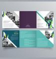 brochure design 656 vector image vector image