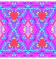 colorful glitch kaleidoscopic seamless pattern vector image vector image