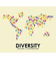 diversity design vector image vector image