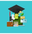 financial education money management cost vector image