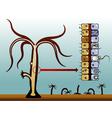 Hydra vulgaris vector image