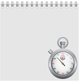 Note and stopwatch vector | Price: 1 Credit (USD $1)