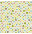 retro circle pattern background vector image