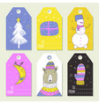 winter symbols vector image