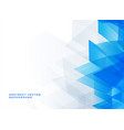abstract blue background with text space vector image vector image