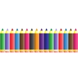 Abstract color seamless school pencil pattern