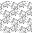callas seamless pattern of flowers vector image vector image
