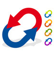 circular arrows for change reset swap turn