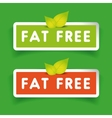 Fat free label set