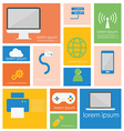 Icon Computer Networking Device vector image
