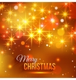 merry christmas typographical background vector image