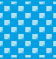 planner pattern seamless blue vector image vector image