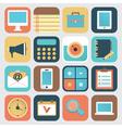 set application social media vector image