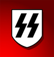 Waffen SS Insignia vector image vector image