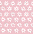 white flower decorative abstract seamless pattern vector image vector image