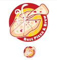 Best Pizza vector image vector image