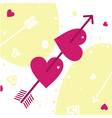 extraction cupid vector image vector image