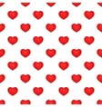 Heart pattern cartoon style vector image
