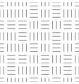 seamless geometric pattern - dash texture vector image vector image