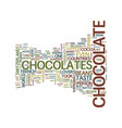 the battle of chocolates needs chocolate lovers vector image vector image