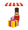 toys kids shop design vector image vector image