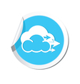 Weather forecast wind icon vector image vector image