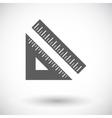 Straightedge vector image
