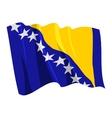 flag of bosnia and herzegovina
