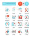 healthcare and medicine vector image