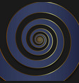 luxury spiral background vector image vector image