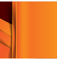 Abstract orange and dark red background overlap vector image