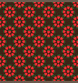 abstract seamless brown strawberry background vector image