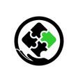 autism care logo template