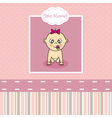 Baby girl birth Greeting Card